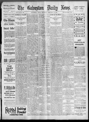 Primary view of object titled 'The Galveston Daily News. (Galveston, Tex.), Vol. 52, No. 336, Ed. 1 Thursday, February 22, 1894'.