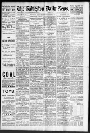 Primary view of The Galveston Daily News. (Galveston, Tex.), Vol. 49, No. 211, Ed. 1 Thursday, November 27, 1890
