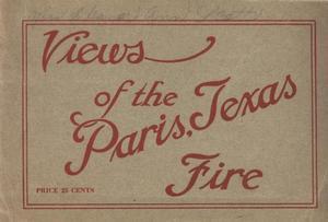 Views of the Paris, Texas Fire