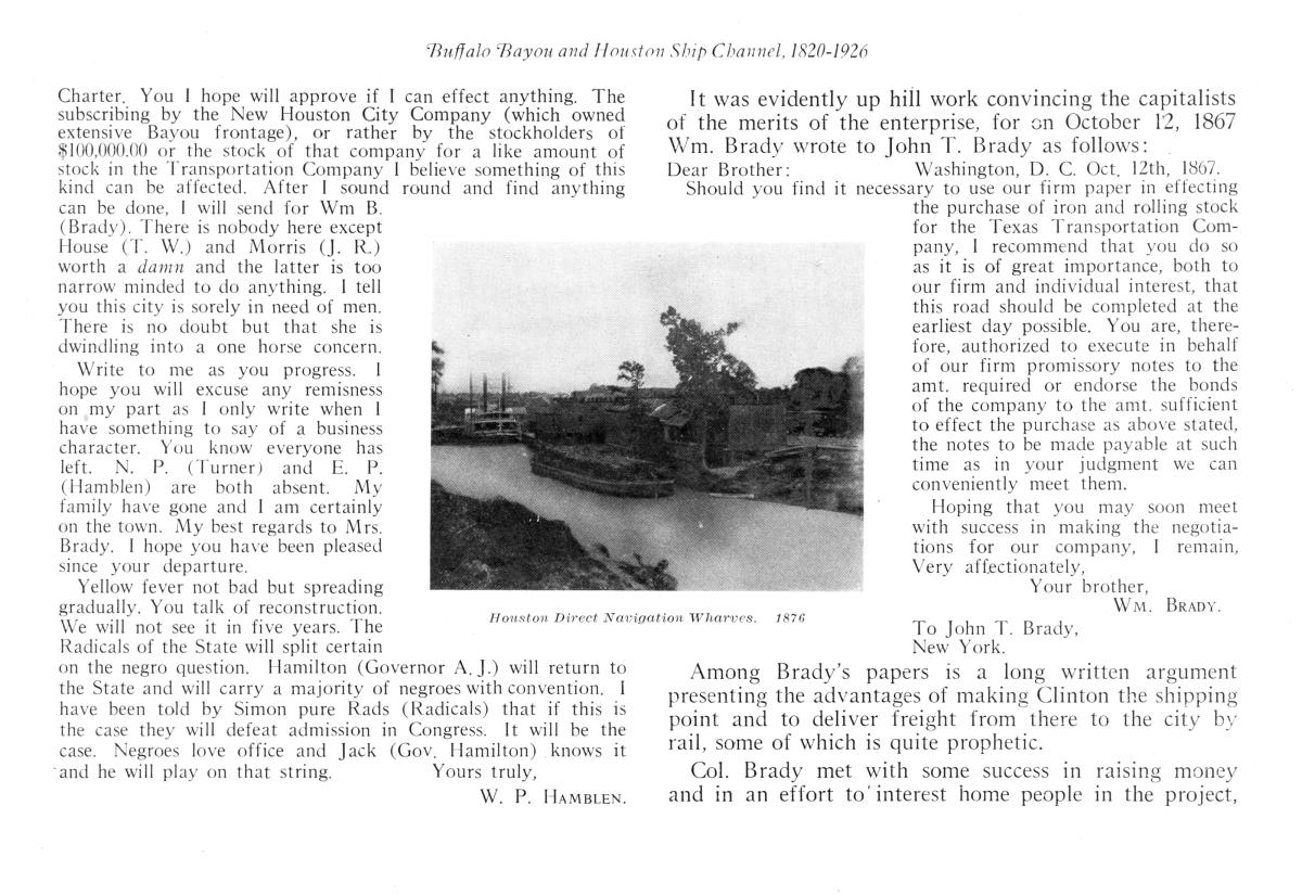 The Story of Buffalo Bayou and the Houston Ship Channel                                                                                                      15