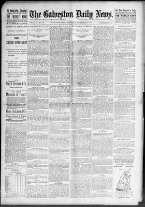 Primary view of object titled 'The Galveston Daily News. (Galveston, Tex.), Vol. 49, No. 151, Ed. 1 Saturday, September 27, 1890'.