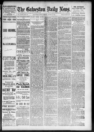 Primary view of object titled 'The Galveston Daily News. (Galveston, Tex.), Vol. 48, No. 125, Ed. 1 Friday, August 30, 1889'.