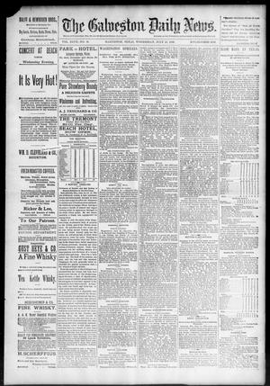 Primary view of object titled 'The Galveston Daily News. (Galveston, Tex.), Vol. 47, No. 91, Ed. 1 Wednesday, July 25, 1888'.