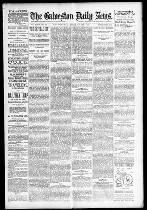 Primary view of object titled 'The Galveston Daily News. (Galveston, Tex.), Vol. 48, No. 254, Ed. 1 Monday, January 6, 1890'.