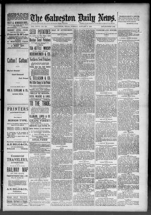 Primary view of object titled 'The Galveston Daily News. (Galveston, Tex.), Vol. 47, No. 256, Ed. 1 Tuesday, January 8, 1889'.