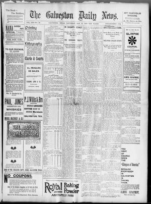 Primary view of object titled 'The Galveston Daily News. (Galveston, Tex.), Vol. 53, No. 50, Ed. 1 Saturday, May 12, 1894'.