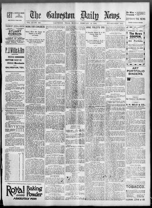 Primary view of object titled 'The Galveston Daily News. (Galveston, Tex.), Vol. 52, No. 326, Ed. 1 Monday, February 12, 1894'.