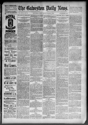 Primary view of object titled 'The Galveston Daily News. (Galveston, Tex.), Vol. 47, No. 311, Ed. 1 Monday, March 4, 1889'.