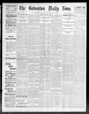 Primary view of object titled 'The Galveston Daily News. (Galveston, Tex.), Vol. 50, No. 291, Ed. 1 Saturday, January 9, 1892'.