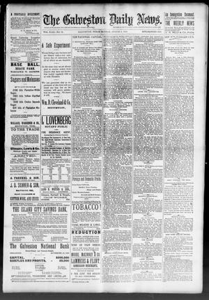 Primary view of object titled 'The Galveston Daily News. (Galveston, Tex.), Vol. 49, No. 96, Ed. 1 Sunday, August 3, 1890'.