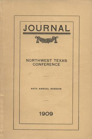 Journal of the Northwest Texas Conference, Forty-Fourth Annual Session, Methodist Episcopal Church South