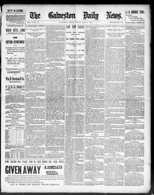 Primary view of object titled 'The Galveston Daily News. (Galveston, Tex.), Vol. 50, No. 73, Ed. 1 Friday, June 5, 1891'.