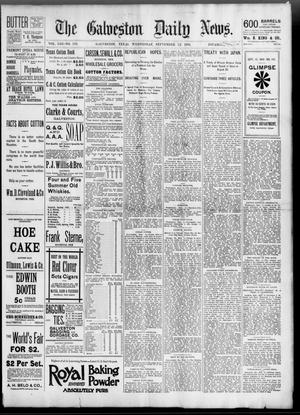 Primary view of object titled 'The Galveston Daily News. (Galveston, Tex.), Vol. 53, No. 173, Ed. 1 Wednesday, September 12, 1894'.