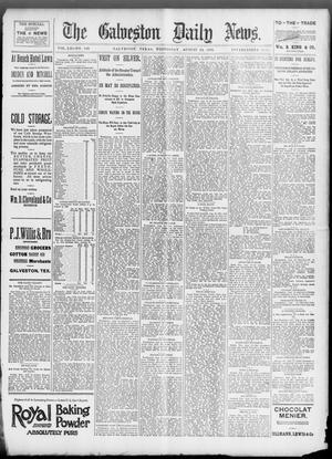 Primary view of object titled 'The Galveston Daily News. (Galveston, Tex.), Vol. 52, No. 146, Ed. 1 Wednesday, August 16, 1893'.