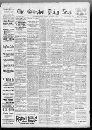 Primary view of object titled 'The Galveston Daily News. (Galveston, Tex.), Vol. 51, No. 215, Ed. 1 Tuesday, October 25, 1892'.