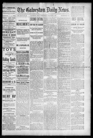 Primary view of The Galveston Daily News. (Galveston, Tex.), Vol. 47, No. 194, Ed. 1 Wednesday, November 7, 1888