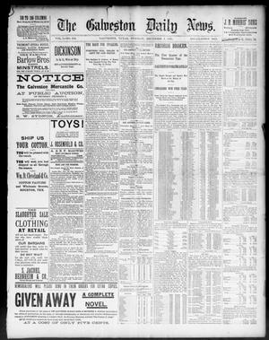 Primary view of object titled 'The Galveston Daily News. (Galveston, Tex.), Vol. 50, No. 252, Ed. 1 Tuesday, December 1, 1891'.