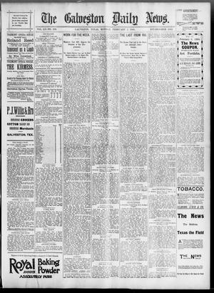 Primary view of object titled 'The Galveston Daily News. (Galveston, Tex.), Vol. 52, No. 319, Ed. 1 Monday, February 5, 1894'.