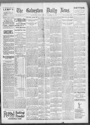 Primary view of object titled 'The Galveston Daily News. (Galveston, Tex.), Vol. 52, No. 232, Ed. 1 Friday, November 10, 1893'.