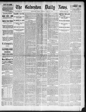 Primary view of object titled 'The Galveston Daily News. (Galveston, Tex.), Vol. 50, No. 119, Ed. 1 Tuesday, July 21, 1891'.