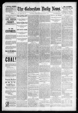 Primary view of object titled 'The Galveston Daily News. (Galveston, Tex.), Vol. 48, No. 313, Ed. 1 Thursday, March 6, 1890'.