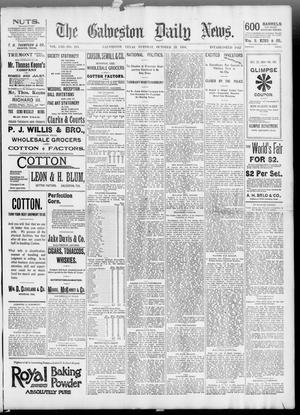 Primary view of object titled 'The Galveston Daily News. (Galveston, Tex.), Vol. 53, No. 214, Ed. 1 Tuesday, October 23, 1894'.