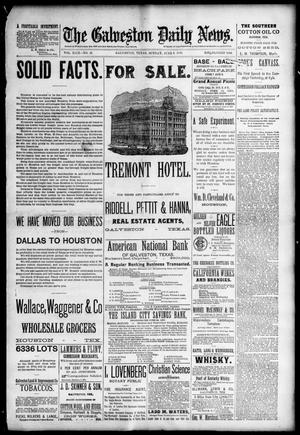 Primary view of object titled 'The Galveston Daily News. (Galveston, Tex.), Vol. 49, No. 41, Ed. 1 Sunday, June 8, 1890'.