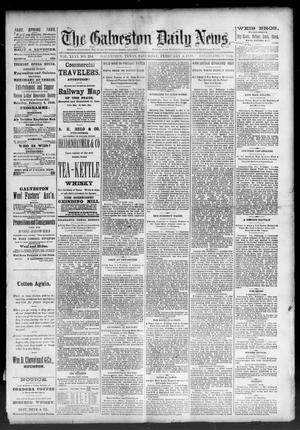 Primary view of object titled 'The Galveston Daily News. (Galveston, Tex.), Vol. 46, No. 284, Ed. 1 Saturday, February 4, 1888'.