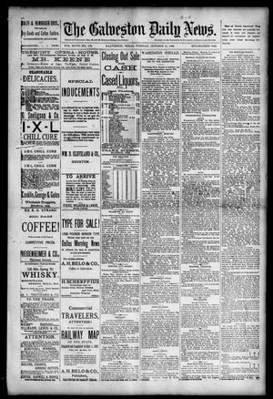 Primary view of object titled 'The Galveston Daily News. (Galveston, Tex.), Vol. 47, No. 172, Ed. 1 Tuesday, October 16, 1888'.