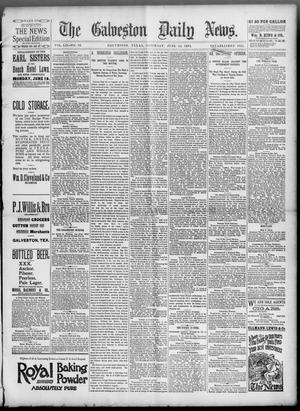 Primary view of object titled 'The Galveston Daily News. (Galveston, Tex.), Vol. 52, No. 93, Ed. 1 Saturday, June 24, 1893'.