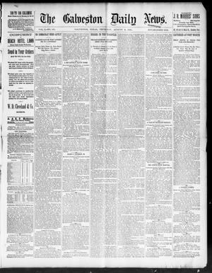 Primary view of object titled 'The Galveston Daily News. (Galveston, Tex.), Vol. 50, No. 135, Ed. 1 Thursday, August 6, 1891'.