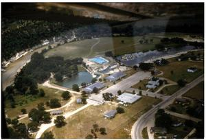 Aerial View of Glen Lake Camp