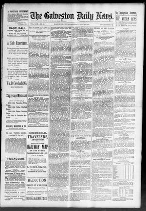 Primary view of object titled 'The Galveston Daily News. (Galveston, Tex.), Vol. 49, No. 88, Ed. 1 Saturday, July 26, 1890'.