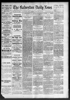 Primary view of object titled 'The Galveston Daily News. (Galveston, Tex.), Vol. 46, No. 304, Ed. 1 Friday, February 24, 1888'.