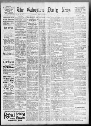 Primary view of object titled 'The Galveston Daily News. (Galveston, Tex.), Vol. 51, No. 153, Ed. 1 Wednesday, August 24, 1892'.
