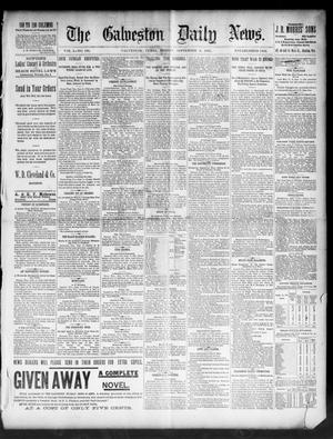 Primary view of object titled 'The Galveston Daily News. (Galveston, Tex.), Vol. 50, No. 164, Ed. 1 Friday, September 4, 1891'.