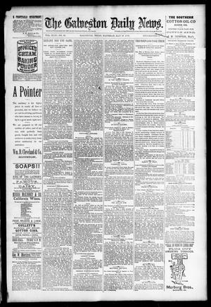 Primary view of object titled 'The Galveston Daily News. (Galveston, Tex.), Vol. 49, No. 12, Ed. 1 Saturday, May 10, 1890'.