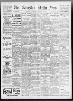 Primary view of object titled 'The Galveston Daily News. (Galveston, Tex.), Vol. 51, No. 246, Ed. 1 Friday, November 25, 1892'.