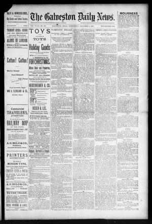 Primary view of object titled 'The Galveston Daily News. (Galveston, Tex.), Vol. 47, No. 222, Ed. 1 Wednesday, December 5, 1888'.