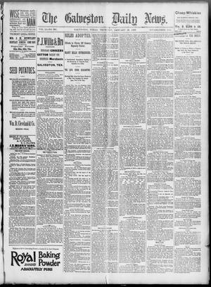 Primary view of object titled 'The Galveston Daily News. (Galveston, Tex.), Vol. 51, No. 301, Ed. 1 Thursday, January 19, 1893'.