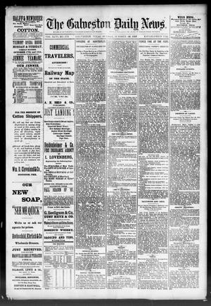 Primary view of object titled 'The Galveston Daily News. (Galveston, Tex.), Vol. 46, No. 173, Ed. 1 Sunday, October 16, 1887'.