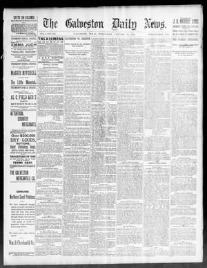 Primary view of object titled 'The Galveston Daily News. (Galveston, Tex.), Vol. 50, No. 295, Ed. 1 Wednesday, January 13, 1892'.
