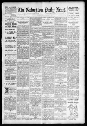 Primary view of The Galveston Daily News. (Galveston, Tex.), Vol. 48, No. 282, Ed. 1 Monday, February 3, 1890