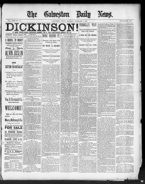Primary view of object titled 'The Galveston Daily News. (Galveston, Tex.), Vol. 49, No. 283, Ed. 1 Saturday, February 7, 1891'.