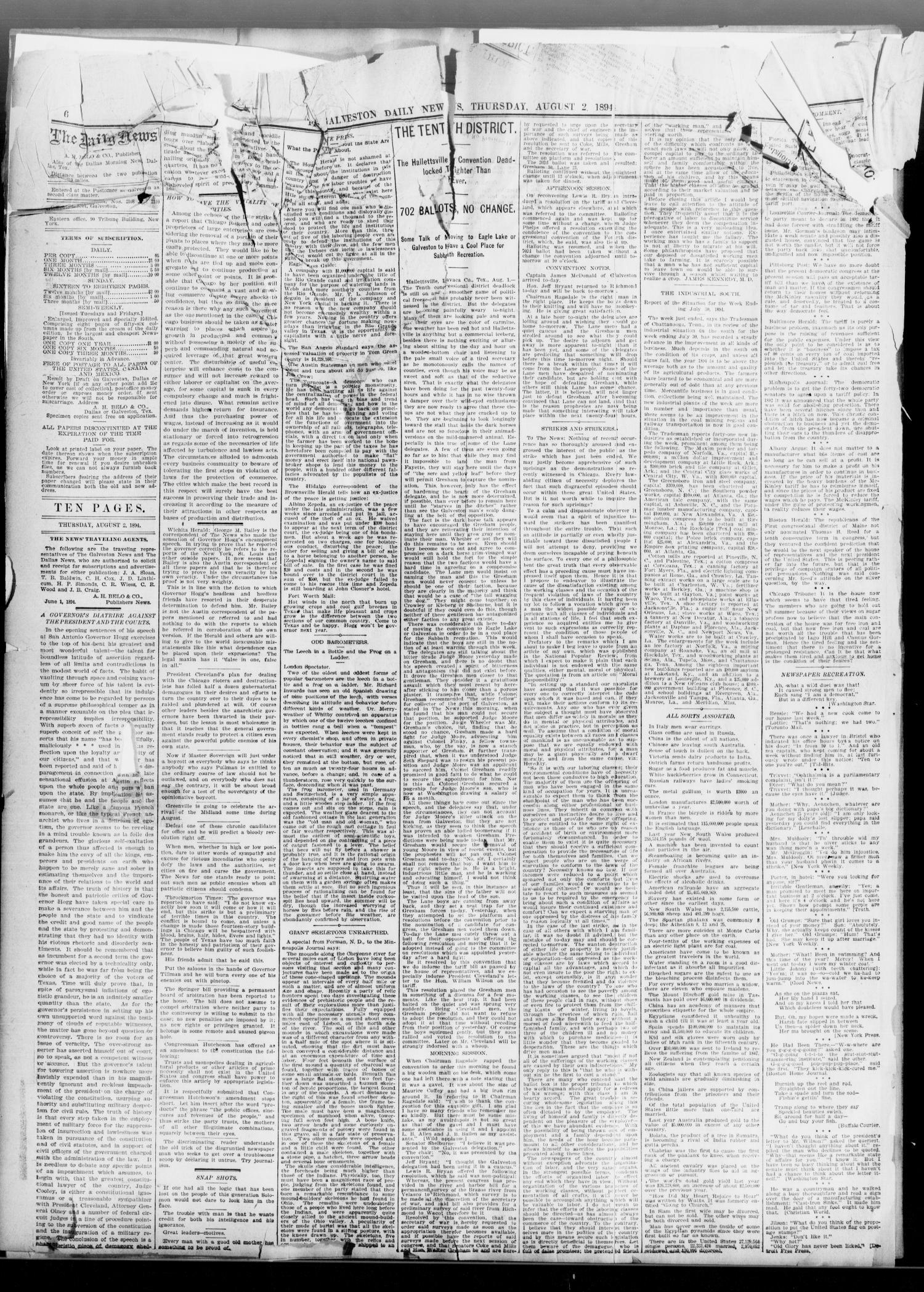 76021fd2347 The Galveston Daily News. (Galveston