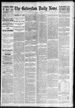 Primary view of The Galveston Daily News. (Galveston, Tex.), Vol. 49, No. 156, Ed. 1 Thursday, October 2, 1890