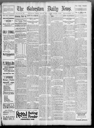Primary view of The Galveston Daily News. (Galveston, Tex.), Vol. 52, No. 129, Ed. 1 Sunday, July 30, 1893