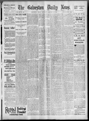 Primary view of object titled 'The Galveston Daily News. (Galveston, Tex.), Vol. 52, No. 338, Ed. 1 Saturday, February 24, 1894'.