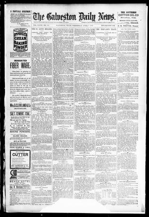 Primary view of object titled 'The Galveston Daily News. (Galveston, Tex.), Vol. 48, No. 347, Ed. 1 Wednesday, April 9, 1890'.
