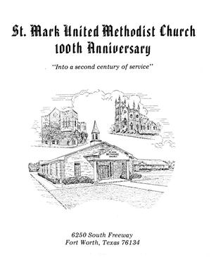Primary view of object titled '[St.  Mark United Methodist Church 100 Annivesary]'.